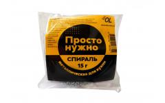 Спираль для посуды 1 шт. (15гр.) в инд. упаковке  1/100
