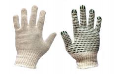 Перчатка ХБ с ПВХ 7,5 класс 4 нити, пара